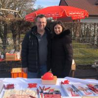 Wolfgang Köcher und Sabrina Probst